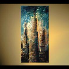 Abstract art by Osnat Tzadok. An Urban Art District favorite! www.UrbanArtDistrict.com www.Facebook.com/UrbanArtDistrict
