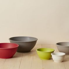 bamboo mixing bowl set