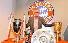 Jupp Heynckes con FCBayern:  ✔ 3 Bundesligas.  ✔ 1 Copa Alemania   ✔ 3 Supercopa  ✔ Triplete ✔ Mejor DT 2013 ✔ 4 final UCL, 2 ganadas.