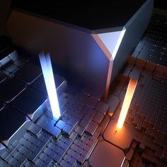 RED OR BLUE #rsa_graphics #cg #c4d #cinema4d #3d #otoy #octane #octanerender #octaneaddicts #scifi #tech #voxygen #abstract #art #abstractart by crusaderarts