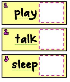 -Ing on a stick. Fun activity for teaching -ing ending. This can be used as a centers activity or as a part of a lesson on suffix/word endings for spelling. Phonics Words, Spelling Words, R Words, Language Activities, Literacy Activities, Inflectional Endings, Word Work Stations, Nouns And Verbs, Speech And Language