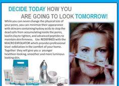 DECIDE TODAY how you are going to LOOK TOMORROW. ACT NOW!!!!!  mindblowingskincare.myrandf.biz   Rodan & Fields Redefine