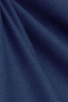 Max Mara - Wool-blend Dress - Blue - UK14