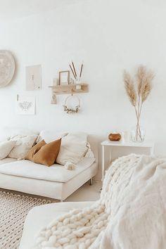Boho Living Room, Home And Living, Living Room Decor, Home And Deco, Living Room Inspiration, Minimalist Home, Home Decor Bedroom, Dream Bedroom, New Room