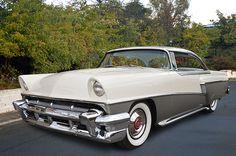 1956 Mercury hardtop seen at Cruisin Grand, Escondido California