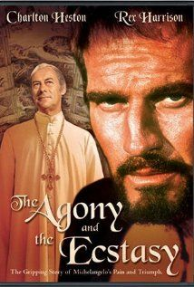 The Agony and the Ecstasy, the biographical story of Michelangelo's troubles while painting the Sistine Chapel, filmed in 1965 and starring Charlton Heston, Rex Harrison and Diane Cilento. The quarry scene was filmed in Massa Carrara.