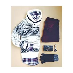 Fairisle and flannel.