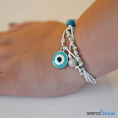 Evil eye - Appealing simplicity - ages long symbol, current fashion.