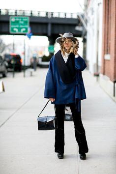 Pin for Later: Retour Sur les Meilleurs Looks Street Style de la Fashion Week de New York Jour 1