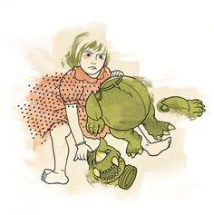 """Little monsters grow up"" _ 30 x 30 cm _ january 2012 _ www.paolarollo.com"