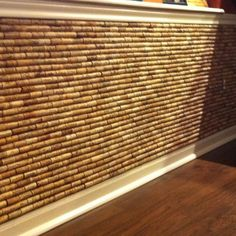 Wine Cork Wall | Creative Uses for Wine Bottles and Corks! | Pinterest