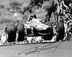 Vintage Formula1 - Dan Gurney, I believe, but am not positive that Dan is driving one of his Eagles.