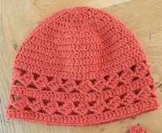 (4) Name: 'Crocheting : Diamonds Crochet Hat $4.25