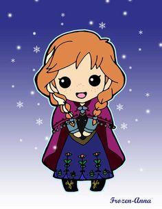chibi frozen | Chibi Anna From Frozen