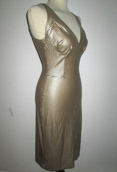 * * * KATTI ZOOB Kleid golden, ca.Gr.36 * * * Bodycon Dress, Ebay, Dresses, Fashion, Clothing Accessories, Gowns, Vestidos, Moda, Body Con