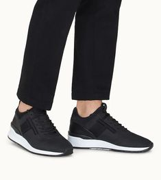 Dettaglio frontale Sneakers in Nubuck and Scuba-Effect Leather Sneakers, Adidas Sneakers, Fabric, Men, Shopping, Shoes, Fashion, Adidas Tennis Wear, Tejido