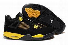 Nike Air Jordan IV 4 Thunder 2012 Mens Shoes