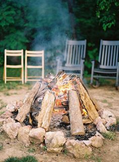 #10 on our #Fall #Wedding round-up - a fun little firepit for late night festivities Photography by tecpetajaphoto.com Read more - http://www.stylemepretty.com/2012/07/30/blackberry-farm-wedding-by-tec-petaja/