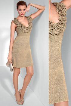 Model Gratuit Robe Fillette Au Crochet 96