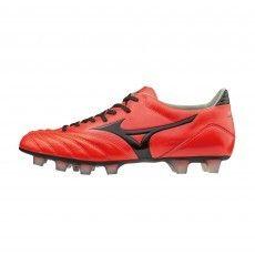 Mizuno Morelia Neo KL MD P1GA175461 voetbalschoenen fiery coral black #mizuno #voetbalschoenen