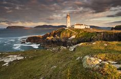 Fanad Lighthouse Sunset by Gary McParland on 500px