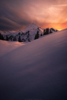 """Baked Light - <a href=""""https://www.instagram.com/jeremyduncanphotography/"""">Follow me on Instagram</a> Fellow photog Howard Snyder and I snowshoed up to Artist Point the other day to shoot sunset and for once I couldn't complain about the light. This was by far some of the best light I've ever had up here. However, finding a workable foreground was another question. We scouted along the ridgeline for a couple hours listening to the sounds of nearby avalanches triggered by the intense afte..."""