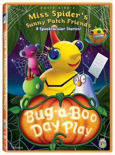 Shop Miss Spider: Bug-A-Boo Day Play [DVD] at Best Buy. Find low everyday prices and buy online for delivery or in-store pick-up. Halloween Dvd, Halloween Cartoons, Halloween Treats, David Kirk, Spider Book, I Got The Job, Happy Fall Y'all, Cartoon Tv, Classic Cartoons