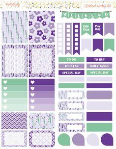 Lavender weekly spread https://www.etsy.com/ie/shop/PrettyCraftyStickers?ref=hdr_shop_menu