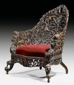 Circa Who Furniture Code: 5849505680 Unusual Furniture, Victorian Furniture, Recycled Furniture, Wooden Furniture, Vintage Furniture, Cool Furniture, Furniture Design, Goa, Antique Chairs