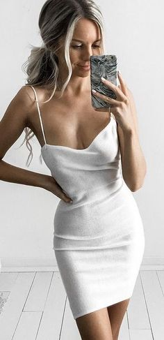Soft Little White Dress Source