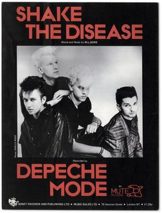 Shake The Disease / Depeche Mode them in Lyon July 1985 Martin Gore, Tour Posters, Band Posters, Music Album Covers, Music Albums, Depeche Mode Albums, Alan Wilder, Mundo Musical, Mode Poster