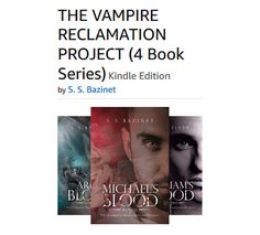 Four book series: THE VAMPIRE RECLAMATION PROJECT https://www.amazon.com/gp/product/B01KVJWM6O/