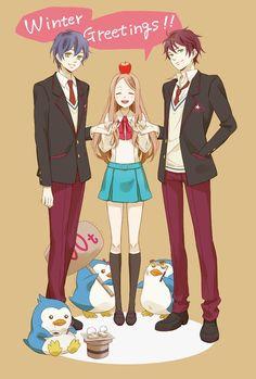 Mawaru Penguindrum - himari kanba shoma #1 #2 #3 Azumanga Daioh, Revolutionary Girl Utena, Kagerou Project, Durarara, Shoujo, Image Boards, Mobile Wallpaper, Me Me Me Anime, Manhwa