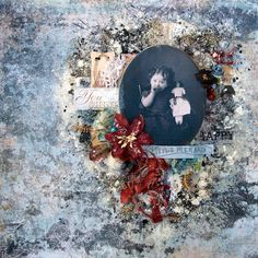 Hello! Today I'd like to share with you my new layout using the beautiful new kit from Scraps of Elegance  'By the Sea'. Our August kit fea...