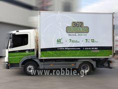 Σήμανση οχημάτων – 362 Grocery (www.362grocery.com) O «362 grocery» επέλεξε την εταιρεία μας για την ολική κάλυψη/σήμανση του οχήματος τους με ψηφιακή εκτύπωση. O «362 grocery» ήρθε στη γειτονιά σας και λειτουργεί 362 ημέρες τον χρόνο, παραμένει ανοικτό 7 ημέρες την εβδομάδα, από 7 το πρωί