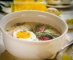 Świąteczny żurek Polish Recipes, Polish Food, Kefir, Cooking Recipes, Dining, Breakfast, Ethnic Recipes, Kitchen, Adventure
