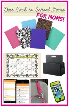 back to school items...for moms!