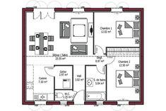 10 meilleures images du tableau plan maison 90m2 en 2017 house floor plans small house plans - Mca maisons de la cote atlantique ...