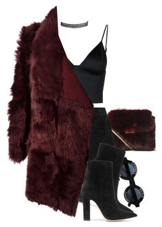 """"""":: Happy Friday! ::"""" by camgueyana ❤ liked on Polyvore featuring T By Alexander Wang, Chanel, rag & bone, Gianvito Rossi, Meteo by Yves Salomon and Humble Chic"""