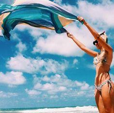 sun, summer, beach, sky