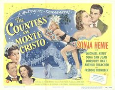 The Countess of Monte Cristo posters for sale online. Buy The Countess of Monte Cristo movie posters from Movie Poster Shop. We're your movie poster source for new releases and vintage movie posters. Figure Skating Movies, Arthur Treacher, Two Movies, Sale Poster, Classic Films, Vintage Movies, Classic Hollywood, Musicals, Comedy