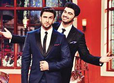Arjun Kapoor and Ranveer Singh!!!! #Bromance :D