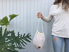 Small Carrier The minimal small carrier is a natural, simple, and neutral bag usually used to store personal care items. Thin Carrier The thin carrier is usually used as a stationary bag with a sec… Linen Bag, Handmade Bags, Travel Bag, Bucket Bag, Cream, Yellow, Beach, Etsy, Shopping