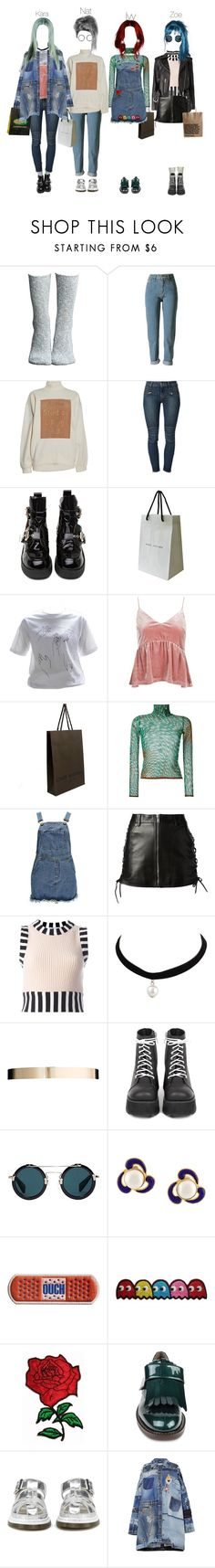 """Input Shopping in Seoul"" by npentertainment ❤ liked on Polyvore featuring Lemon, WithChic, Acne Studios, Koral, Jeffrey Campbell, Marc Jacobs, Topshop, Louis Vuitton, Jean-Paul Gaultier and Boohoo"