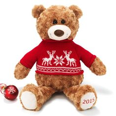 2015 Avon Holiday Plush Teddy Bear $19.99 with any Avon Living purchase. Order at www.youravon.com/sgobble