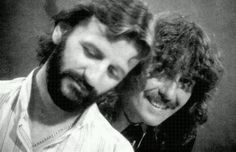 Richard Starkey and George Harrison