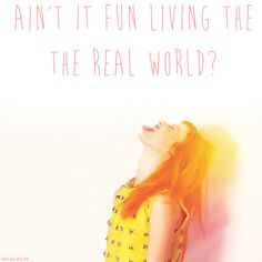 """Can't stop listening to this song. It's like crack. """"Ain't It Fun"""" -Paramore"""