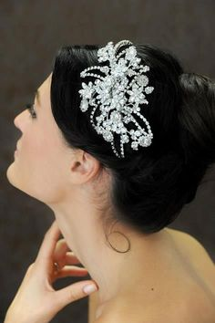 Bridal hair accessories GET LISTED TODAY! http://www.HairnewsNetwork.com  Hair News Network. All Hair. All The time.