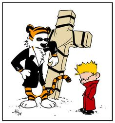 I love all these Calvin and Hobbes things, AND TRIGUN!