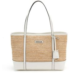 ebdce44900 Dana Buchman Lexi Shopper Straw Handbags